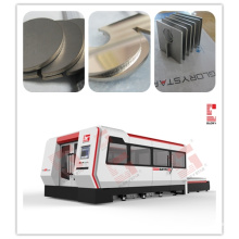 Fiber Laser Cutting Machine with Full Enclosed Exchangeable Worktable (GS-3015CE)