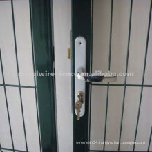 Wholesale PVC coated security steel fence gate