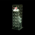 Clear Acrylic Cosmetics Display Stand