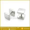 Últimos pendientes falsos plateados oro de los enchufes del oro negro de plata del acero inoxidable del diseño 316L