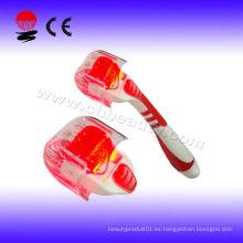 Red Photon Electric Derma rodillo de piel Roller belleza masajeador Equipos de belleza portátil con CE derma rodillo instrucciones