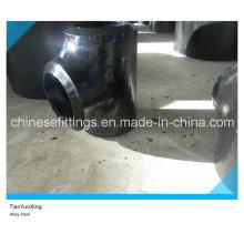 Sch160 Buttweld Seamless Pipe Fitting en alliage en acier Tee