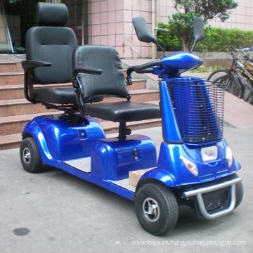 Scooter de movilidad de doble asiento y cuatro ruedas de 800W (DL24800-4)