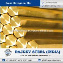 Barra hexagonal 303 de acabado duradero de calidad genuina para uso industrial y comercial