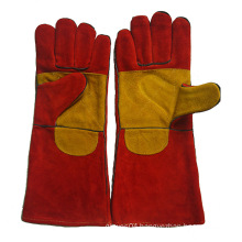 "16"" Double Palm Indstry Working Welding Gloves with Ce En12477"