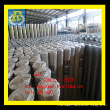 1x1 galvanized welded wire mesh/100 x 100mm galvanized welded wire mesh panel