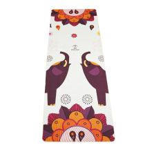 China Supplier Non Slip Color Precision Seaming Jute Straps Hemp Linen Yoga Mat
