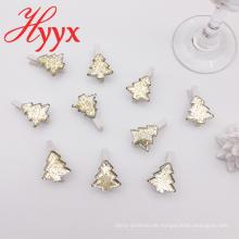HYYX Großhandel Made In China weiße Weihnachtsdekoration Stücke Clip