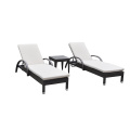 Outdoor SGS PE Rattan Beach Chairs