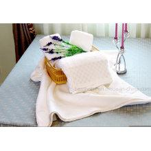 Toalha de hotel, 100% algodão 16s / 1, 21s / 2, 32s / 1, simples, jacquard, borda dobby, bordado
