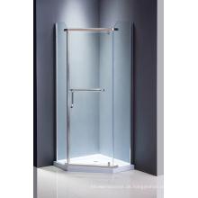 Diamond Glass Dusche Bildschirm einfache Dusche