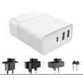 Chargeur mural USB charge rapide 3 ports 48W 3 ports