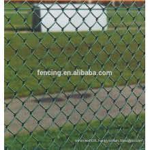 PVC/PE coated Diamond Mesh / Chain Link Fence