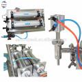 Heißer Verkauf Doppelköpfe flüssige Abfüllmaschine für Shampoo, Badegel, Flüssigwaschmittel 100-1000 ml