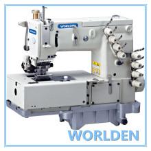 WD - 1508P cama plana doble cadeneta máquina con mecanismo de movimiento de lanzadera Horizontal
