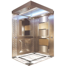 Passenger Elevator Lift High Quality Mirror Etched Aksen Hm-2000-1