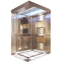 Passenger Elevator Lift High Qualigy Mirror Etched Aksen