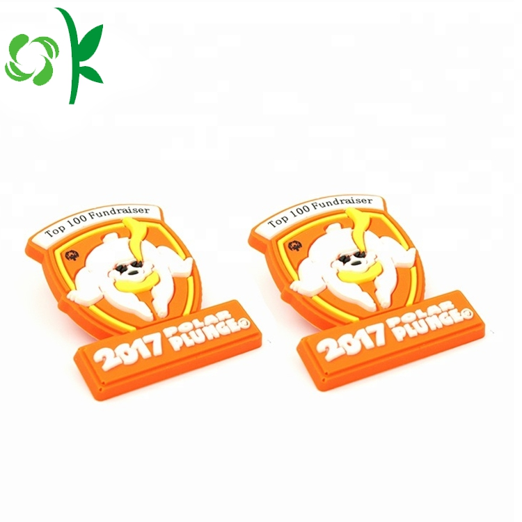 Silicone Logo Badges 4