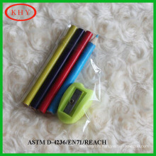 Promotional stationery set PVC bag pencil set