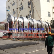 Rotary Drum Drying Machine untuk Bateri Industri Bateri