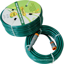 30m (100′) UV Resistant Reinforced PVC Garden Hose with Polyester Thread