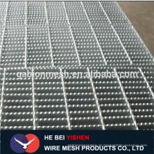 Revestimento de grades de aço galvanizado / grades de aço galvanizado / grades de barras / trincheiras / grades de barras de aço
