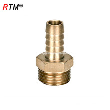 J17 4 12 8 accesorios de compresión de latón tubo de pex accesorios de latón a medida montaje de adaptador recto de latón latón