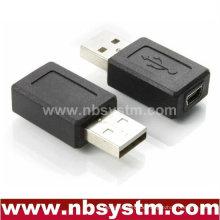 USB Ein Mann zum Mini 5pin weiblichen Adapter