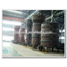 Linha de produção contínua contínua e automática do azeite da imprensa fria 10-200TPD