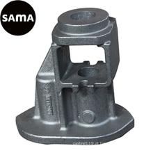 Fundição dúctil, cinza do ferro para a peça de maquinaria com areia da resina