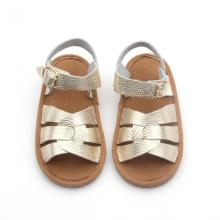 Top Quality Wholesale Läder Sommar Baby Sandaler