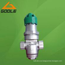 Válvula reductora de presión de vapor y agua de fuelle de acción directa Y14h / F (FP03)