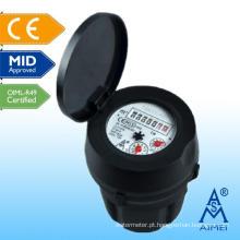 Concntric Super seco tipo medidor de plástico de água fria