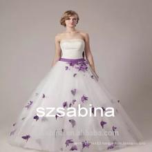 PD10032 flower dress strapless evening dress