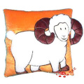 plush cartoon sheep cushion