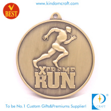 Supply High Quality Custom Copper Stamping 3D Marathon Medal at Factory Price