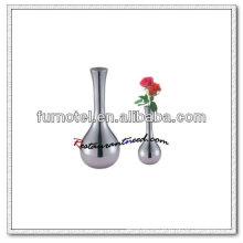 Vaso de flor única T188 de aço inoxidável