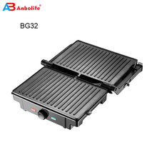 1600W Smokeless Indoor Electric  Grill With Thermostat double contact grill