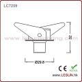 Luz do armário do ponto do diodo emissor de luz de 1W 3W com a versão de Dimmable para a mostra