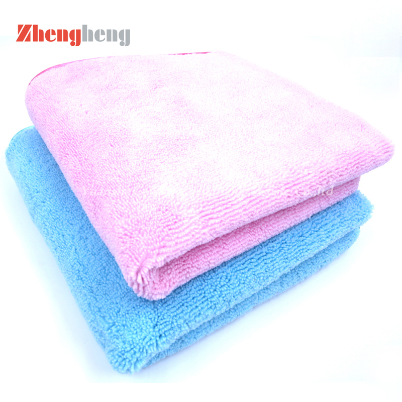 High and Short Loops Microfiber Towels (8)