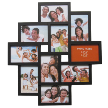 Crossroads 10-Slot Plastic Collage Frame 4 By 6 And 6 By 4 China ...