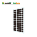Bluesun new 4BB panels 320w 330w 340w bipv solar panel power mono transparent panel