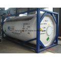 25000L hochfesten Carbon Stahl Tankcontainer für Wasser, Öl, Chemikalien