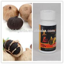 Ферментированный органический в возрасте черный чеснок хорошее лекарство для здоровья
