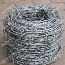 16-1/2 Aluminized Aluminum clad steel barbed wire
