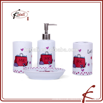Heiraten Kay kundenspezifische keramische Geschenk-Set Waschraum-Set Bad Produkte