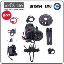 Motorlife le kit de vélo électrique pas cher de la porcelaine / meilleur vente bafang mid e-vélo kit de conversion / 250W - 1000W bafang 8fun moteur