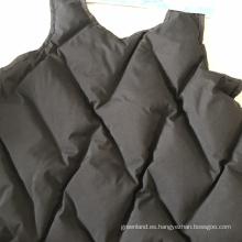Tela de prueba de plumón de diamante a medida para chaquetas de plumón
