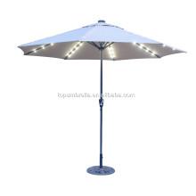La mejor calidad con LED paraguas para plantas de viaje sombrilla paraguas jardín al aire libre