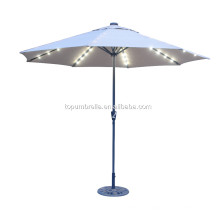 Best quality with LED umbrella for plants travel umbrella umbrella garden outdoor